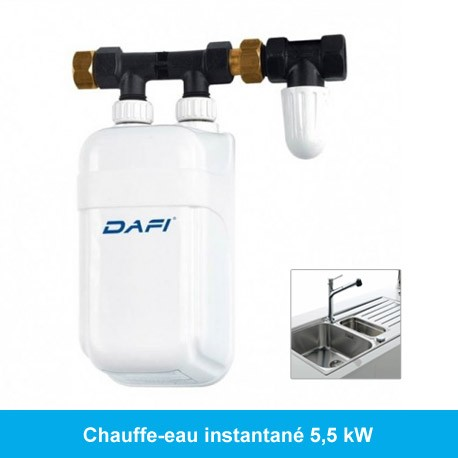 Mini chauffe-eau instantané 4,5 kW