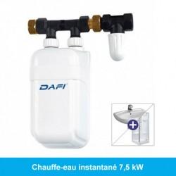 Mini chauffe-eau instantané 7,5 kW