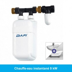 Mini chauffe-eau instantané 9 kW